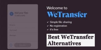 5 Best WeTransfer Alternatives to Send Large Files Online