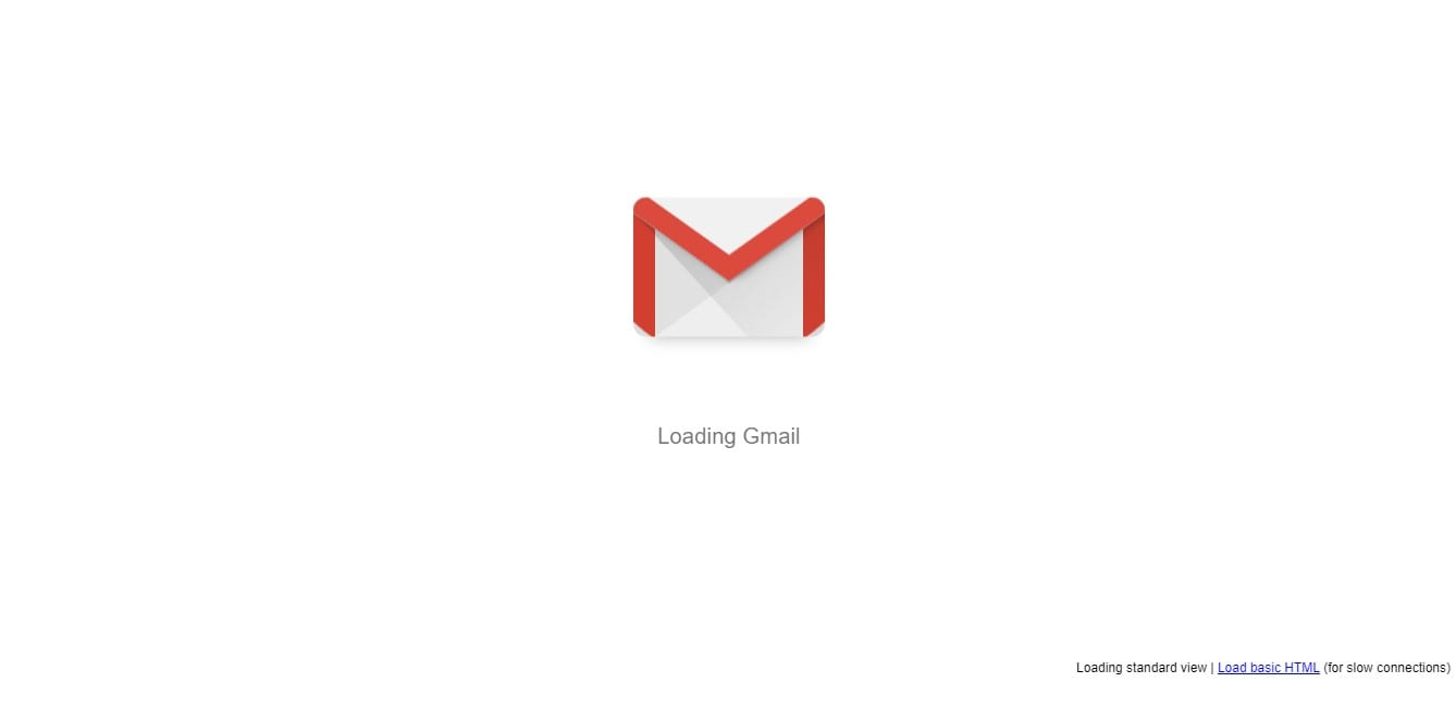 open Gmail on your web browser