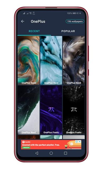 Download the available OnePlus Nord wallpaper