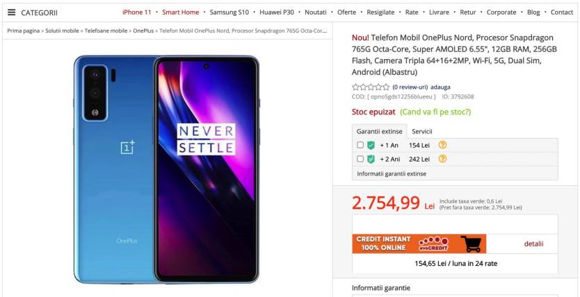 OnePlus Nord Price & Other Details Leaked Ahead Of Launch