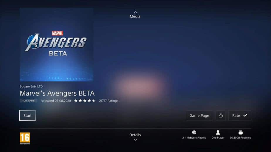 Download and Play Marvel's Avengers on PS4