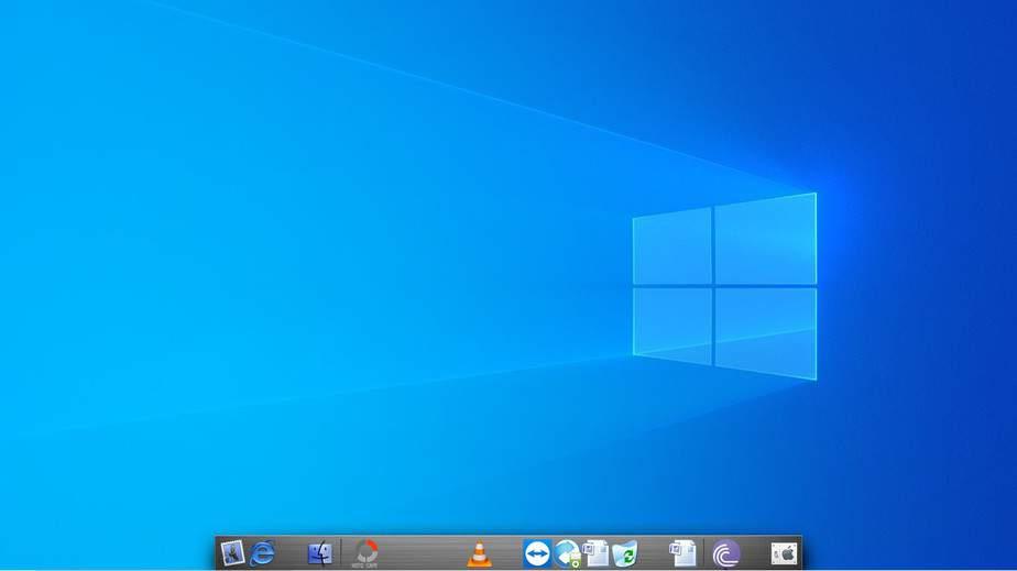 Mac Type App dock on Windows