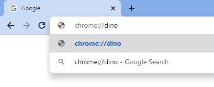 type 'chrome://dino' in the address bar