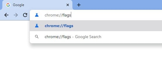type in 'chrome://flags' on the address bar