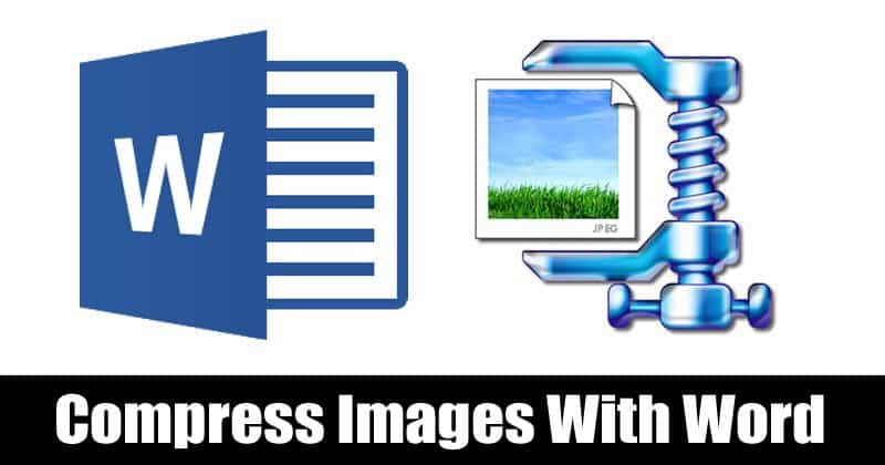 Compress Images With Microsoft Word Document