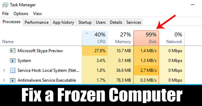 How To Restart Windows Explorer.exe To Fix a Frozen Desktop