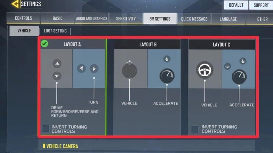 Personalización del control de vehículos