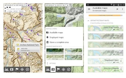 Mappe offline all-in-one