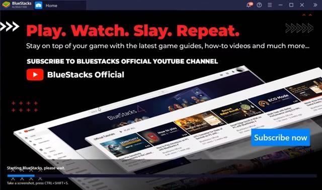 Download & install BlueStacks