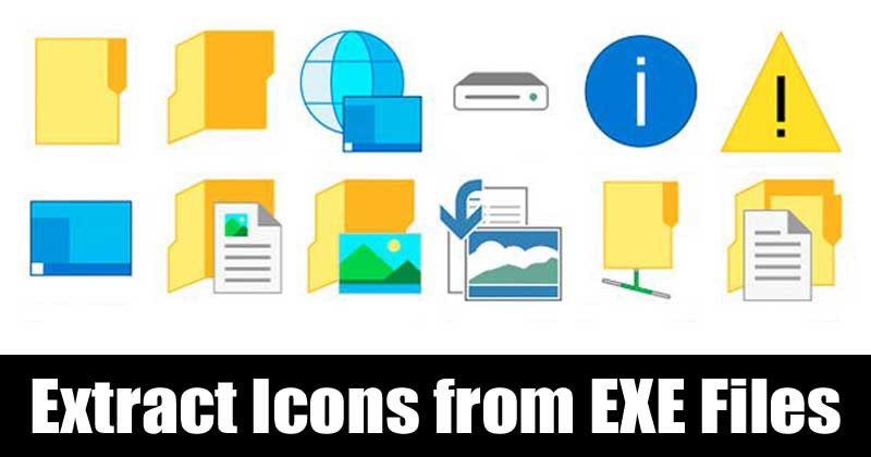 How To Extract Icons from Windows EXE Files