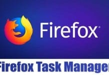 How to Use Firefox's Task Manager
