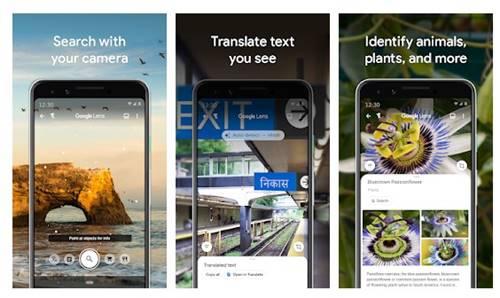 Install the Google Lens app