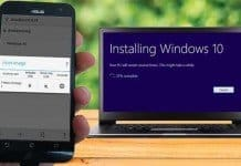 How to Install Windows 10 From an Android Smartphone