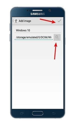 Locate the Windows 10 ISO file