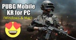 PUBG Mobile KR for PC