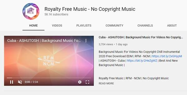 Royalty Free Music - No Copyright Music