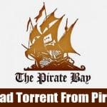 Download .torrent files from The Pirate Bay