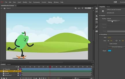 Adobe 2D Animation Software