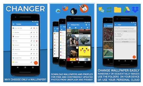 Changer - Wallpaper Manager