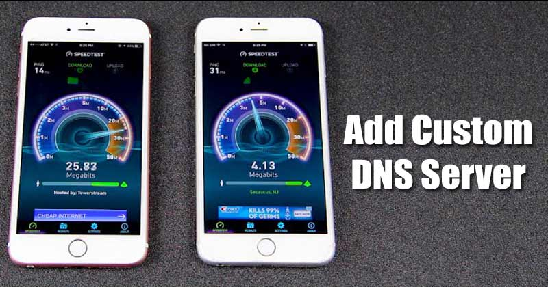 How to Add Custom DNS Server On iPhone in 2021