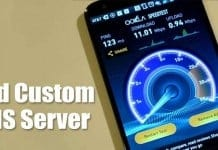 How to Add Custom DNS Server On Android