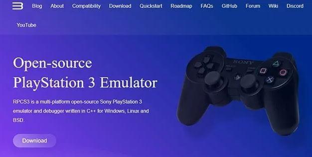 PS3 emulator for PC