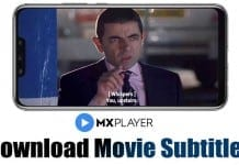 Download Subtitles using MX Player On Android