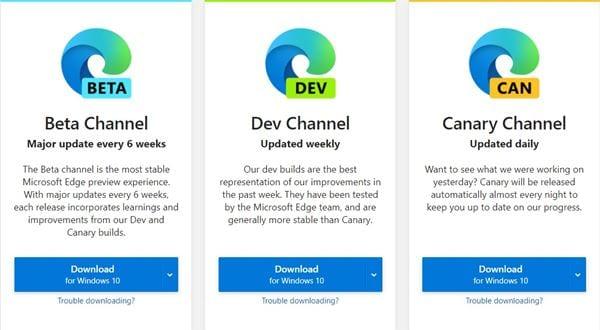 Microsoft Edge Installer (Online)