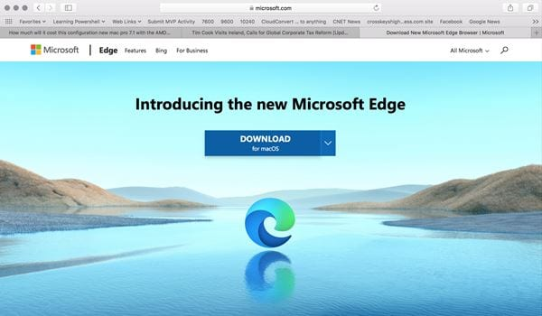 download the Microsoft Edge browser