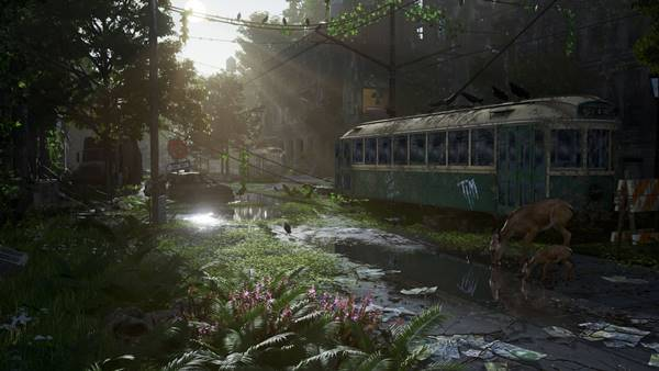 Post-Apocalyptic Nature Scene