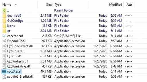 Extract exe file on PC
