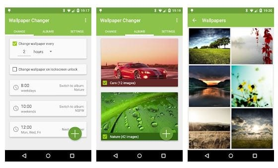 5 Best Automatic Wallpaper Changer Apps For Android