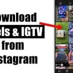 Download Instagram Reels & IGTV Videos