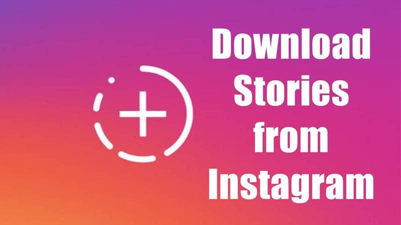 Download or Save Instagram Stories