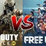 Free Fire vs Call Of Duty Mobile