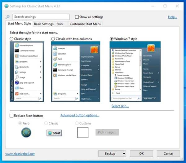 How to Get the Classic Windows 7 Start Menu in Windows 10