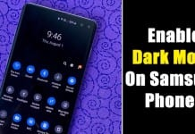 How to Enable Dark Mode on Samsung