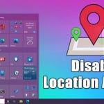 How to Turn Off Location Access in Windows 10