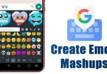 Create Emoji Mashups using Gboard on Android