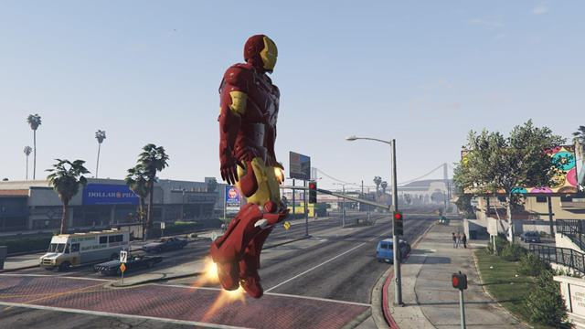 GTA Iron Man Armour