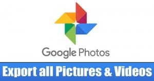 How To Export all Photos & Videos from Google Photos