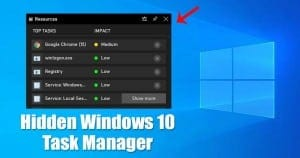 How to Get a Task Manager Inside Games on Windows 10