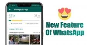 How to Use the New Storage Management Tool of WhatsApp