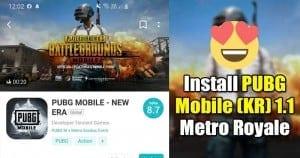 Download PUBG Mobile KR (Korean) 1.1 Metro Royale Update