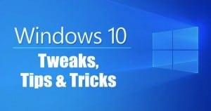 Windows 10 Tips & Tricks - Hidden Start Menu, God Mode & More