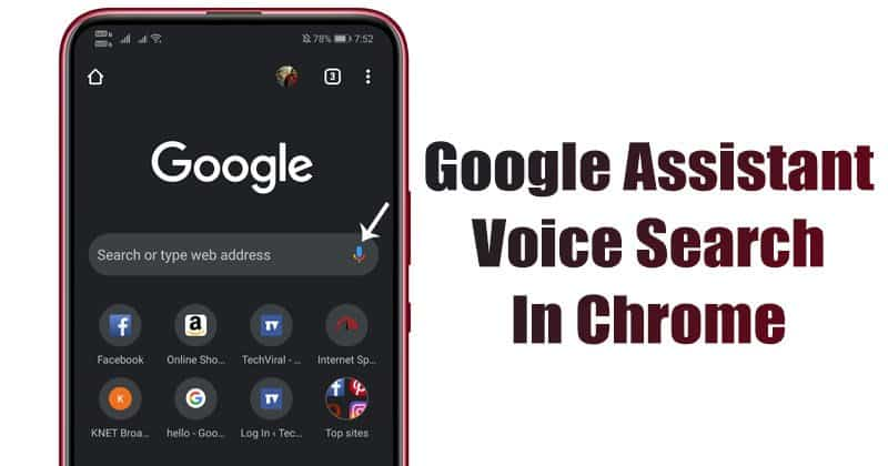 How to Enable Google Assistant Voice Search in Chrome for Android