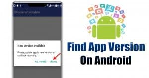 3 Ways to Find Out What Version of an Android App You're Running