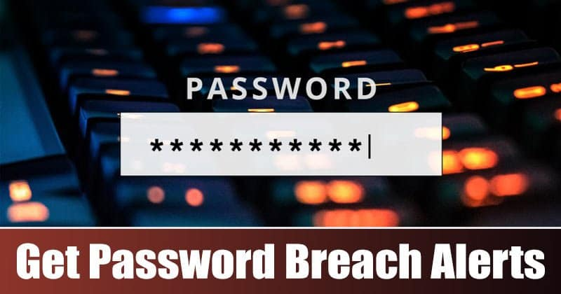 How to Enable Password Breach Alerts in Microsoft Edge Browser