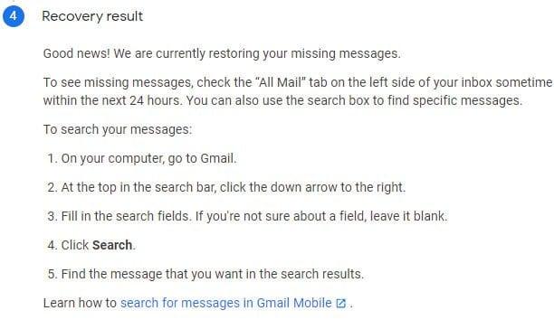 كيفية إسترجاع رسائل الجيميل gmail المحذوفة بسهولة