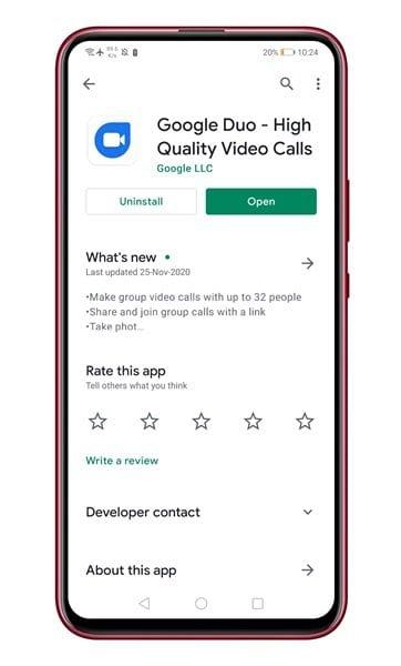 Cara Share Screen Android Melalui Google Duo